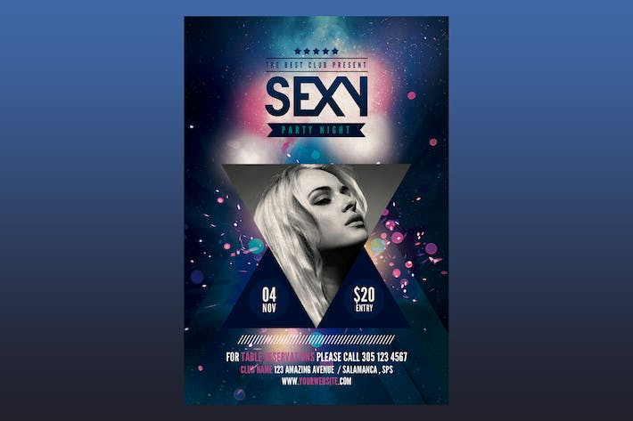 Thumbnail for Sexy Party Flyer Poster