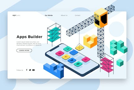 Building - Banner & Landing Page