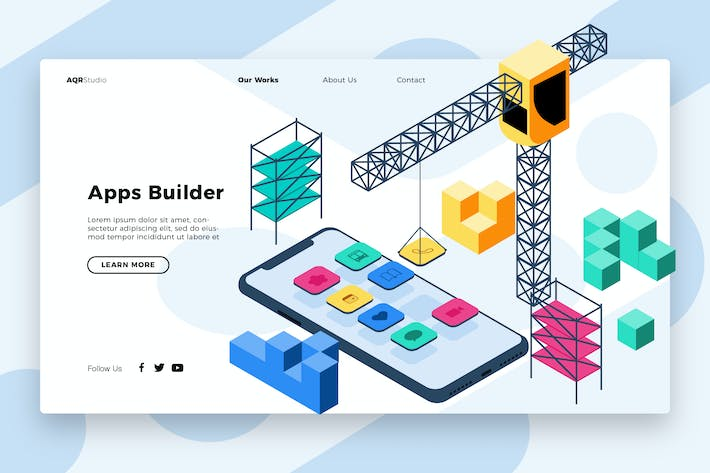 Thumbnail for Building - Banner & Landing Page