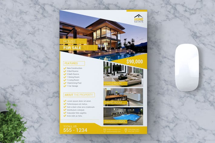 Thumbnail for Real Estate Flyer Vol #01