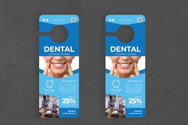 Dental Service Door Hanger Creative Promotion