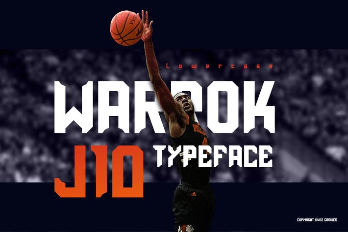 Thumbnail for Warrok Display Font