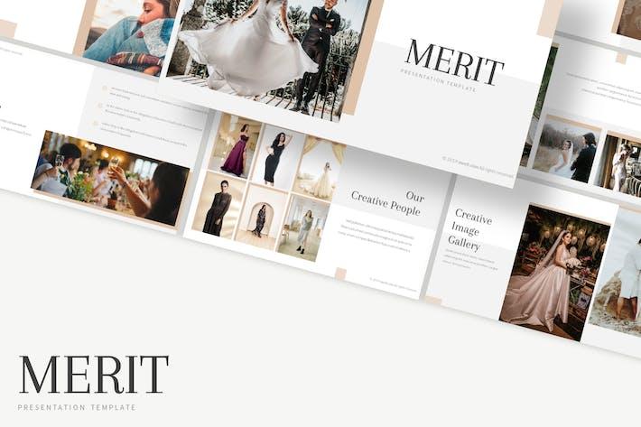 Thumbnail for Merit - Google Slides Template