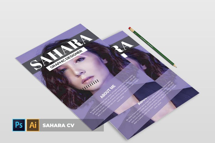 Cover Image For Sahara | CV & Resume
