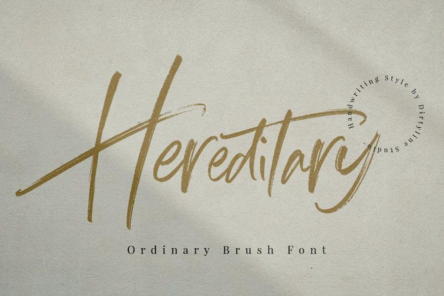 Hereditary  Script - Signature Brush