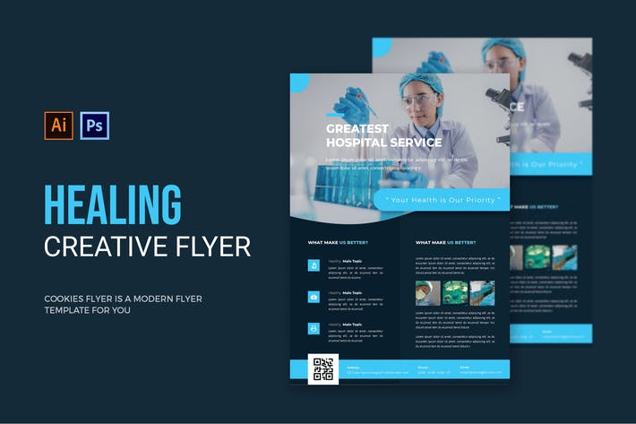 Healing Hospital - Flyer