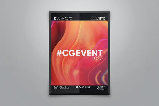 Creative Abstract Poster Template