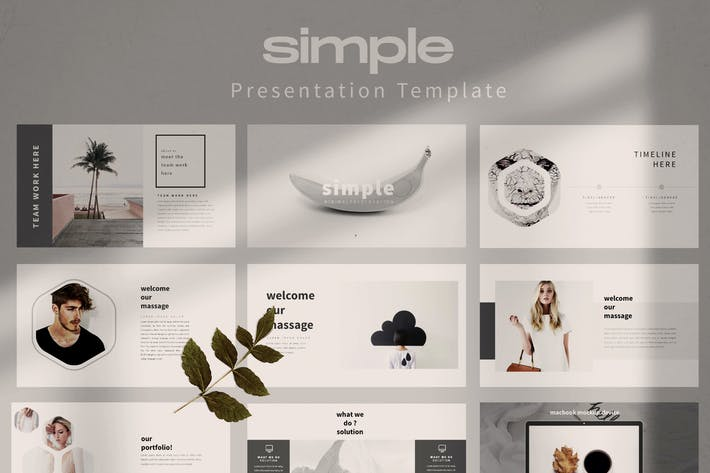 Thumbnail for Simple Business Powerpoint Template - LS