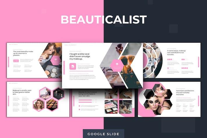 Thumbnail for The Beauticalist - Google Slide Template