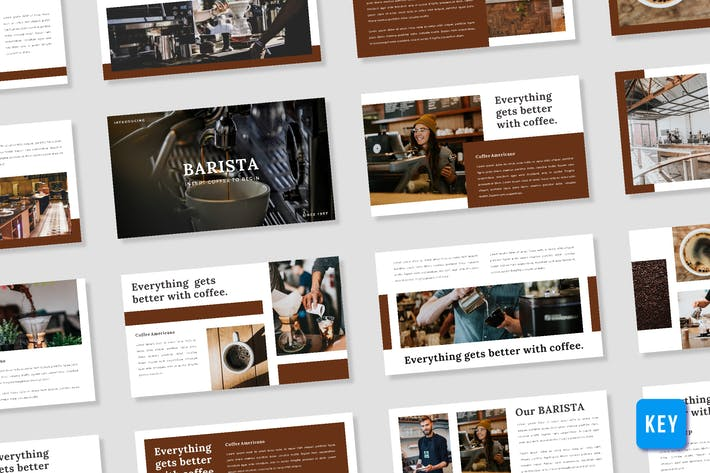 Thumbnail for Barista Presentation Template - (KEY)