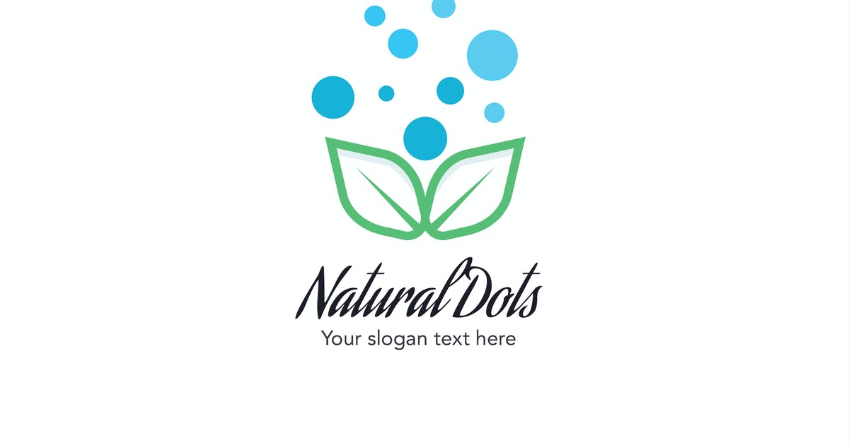 Download Natural Dots Logo by iDoodle