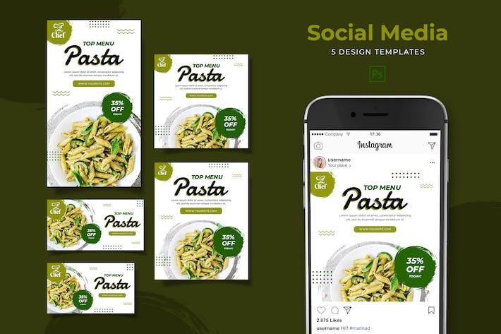 Thumbnail for Pasta Social Media Pack