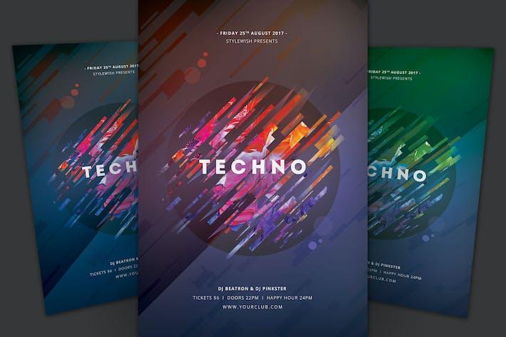 Thumbnail for Techno Flyer