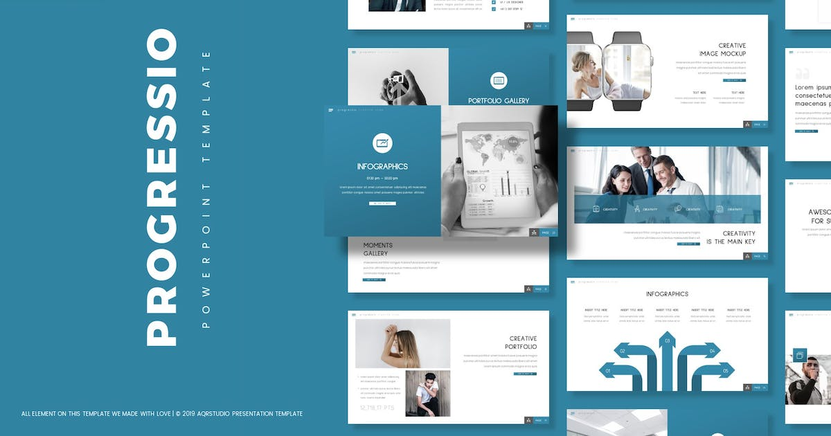 Download Progressio - Powerpoint Template by aqrstudio