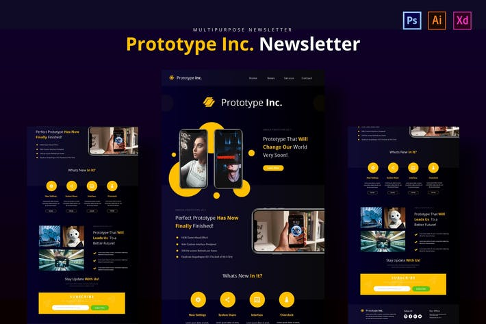 Thumbnail for Prototype Newsletter