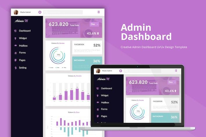 Analytic Dashboard Admin Template