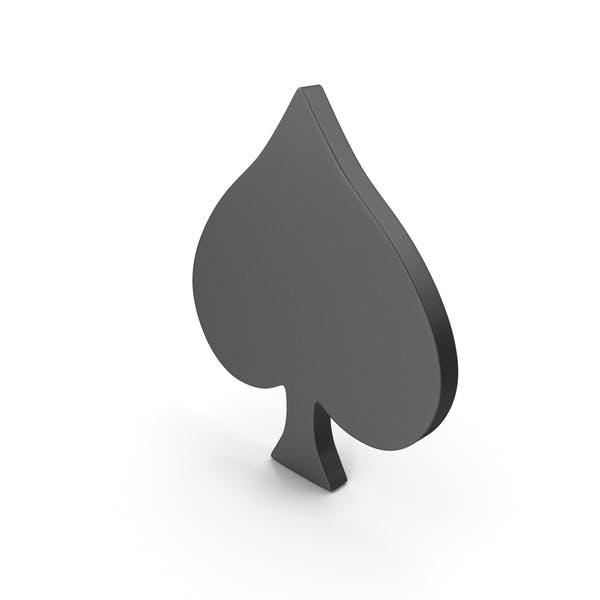 Thumbnail for Символ игральных карт Лопата