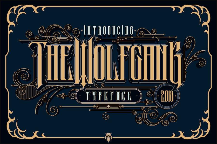 Wolfgang Display Typeface