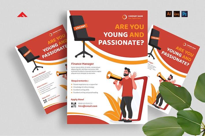 Vacancy Flyer