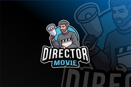 Movie Director Logo Template