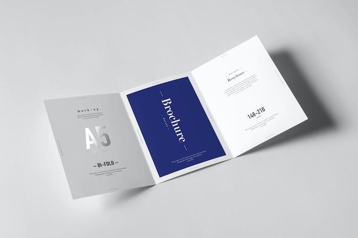 Thumbnail for Tri-Fold A5 Brochure Mock-up
