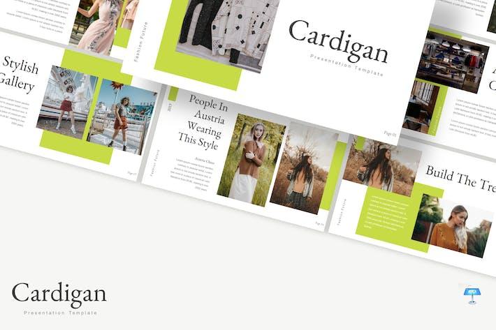Thumbnail for Cardigan - Keynote Template