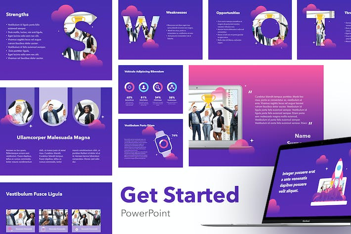 Thumbnail for Get Started PowePoint Template