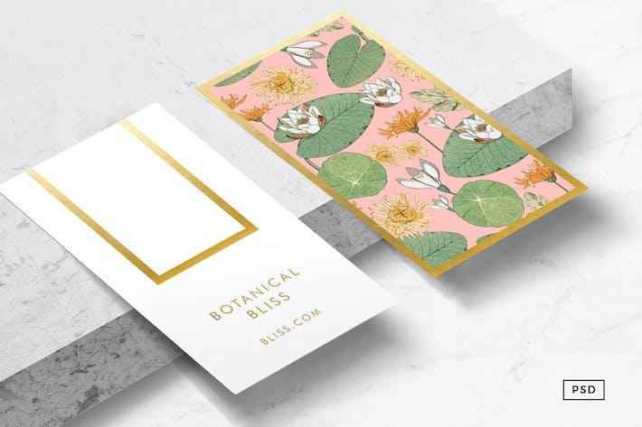 Vintage botanicals business card by 83oranges on envato elements cover image for vintage botanicals business card reheart Choice Image