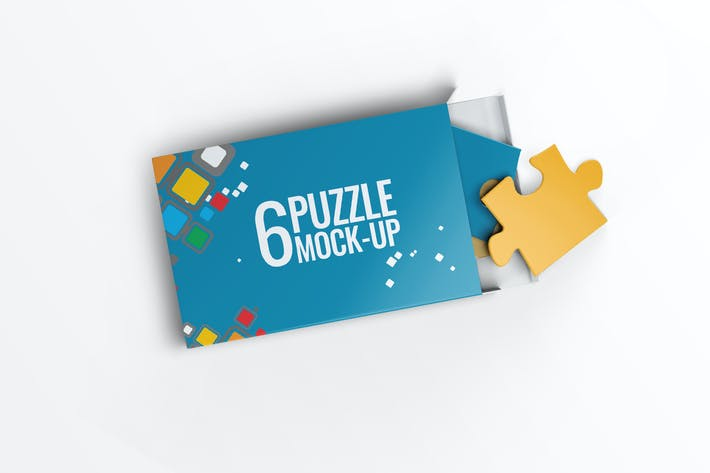 Thumbnail for Puzzle 6 Pieces Mock-Up
