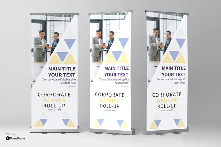 Thumbnail for Business - Roll Banner vol.04 YR