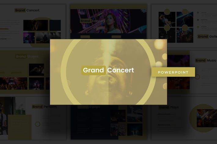 Grand Concert - Powerpoint Template