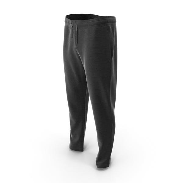 Мужские спортивные брюки черный