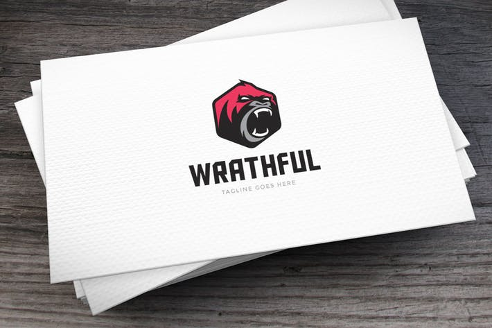 Thumbnail for Wrathful Logo Template
