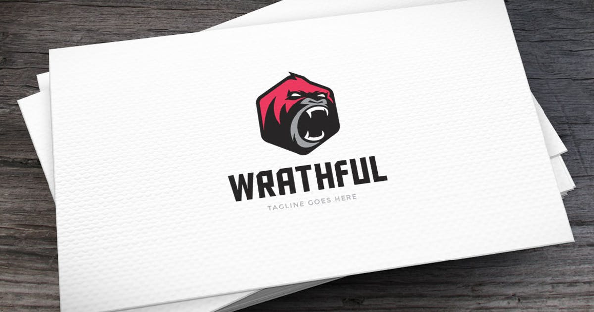 Download Wrathful Logo Template by empativo