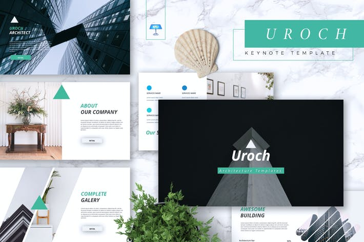 Thumbnail for UROCH - ArchitekturKeynote Vorlage