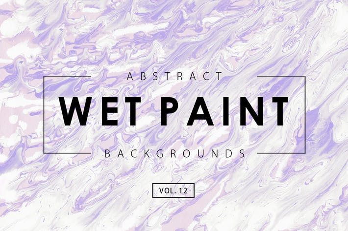 Wet Paint Backgrounds Vol. 12