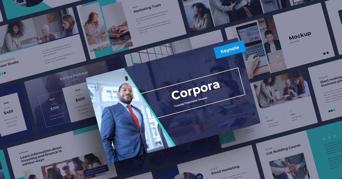 Download Corpora - Corporate Keynote Presentation by mhudaaa