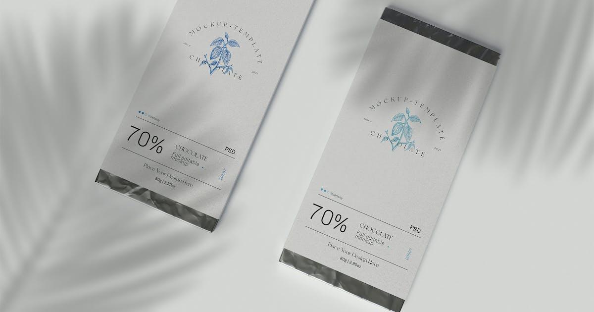 Download Chocolate Packaging Mockup by megostudio