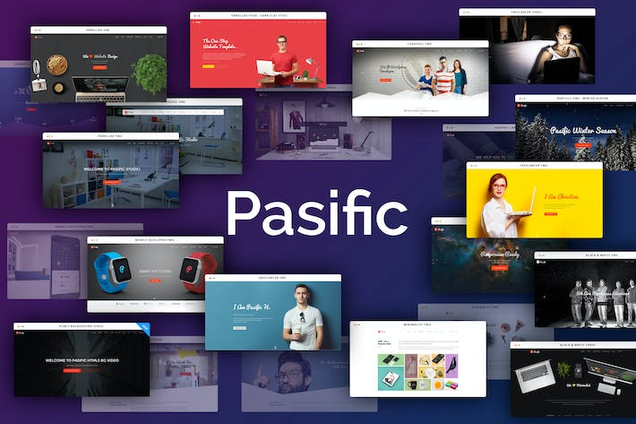 Thumbnail for Pasific - Multipurpose HTML5 Template