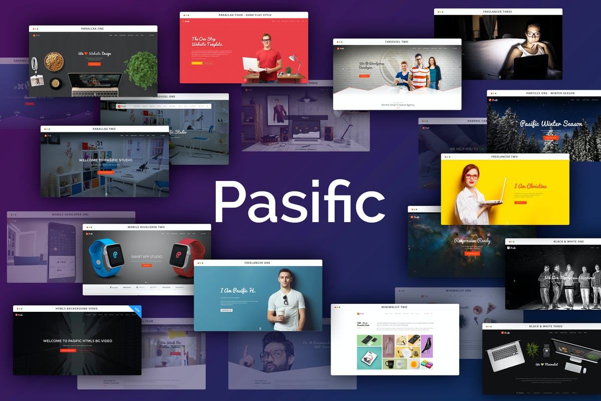 Download Pasific - Modern Multipurpose HTML5 Template by themeboo by Unknow