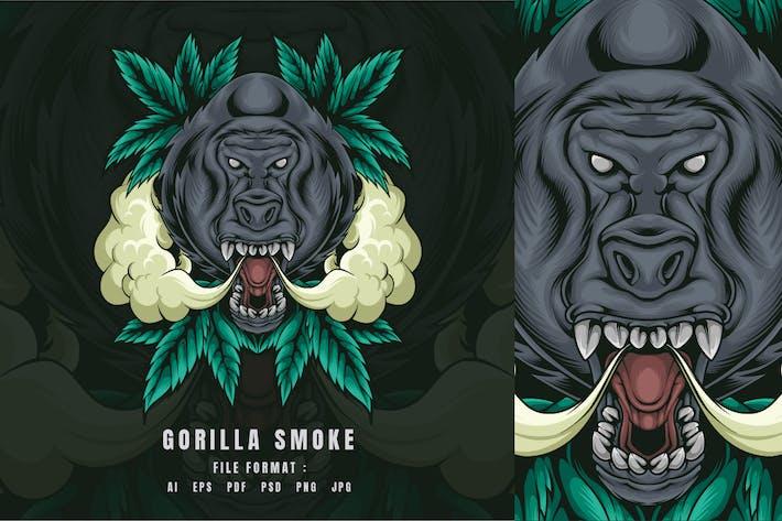 Gorilla-Rauch