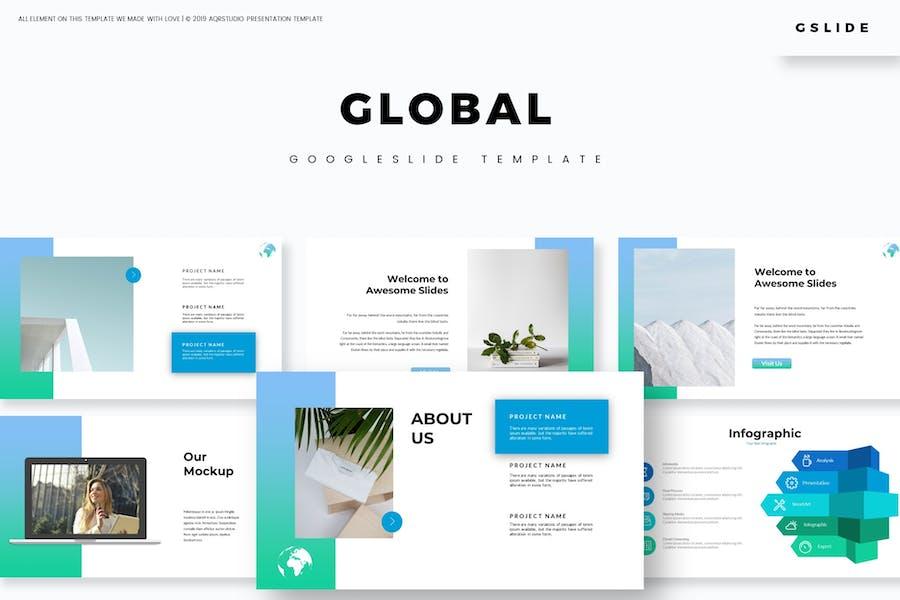 Global - Google FolienVorlage