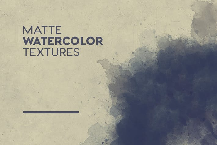 Thumbnail for Matte Watercolor Textures