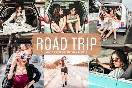 Road Trip Mobile & Desktop Lightroom Presets