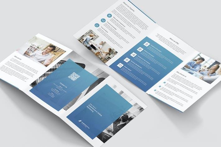 Thumbnail for Brochure – Creative Marketing Tri-Fold A5