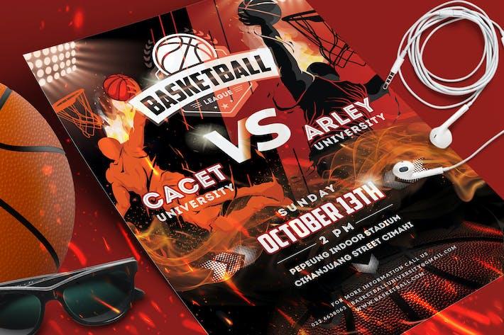 Thumbnail for Basketball Game Flyer