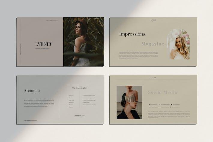 Thumbnail for LVNIER — комплект носителя Powerpoint