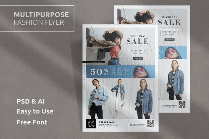 Thumbnail for Fashion Flyer Template Vol.4