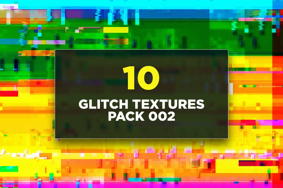 Glitch Texturen Pack 002
