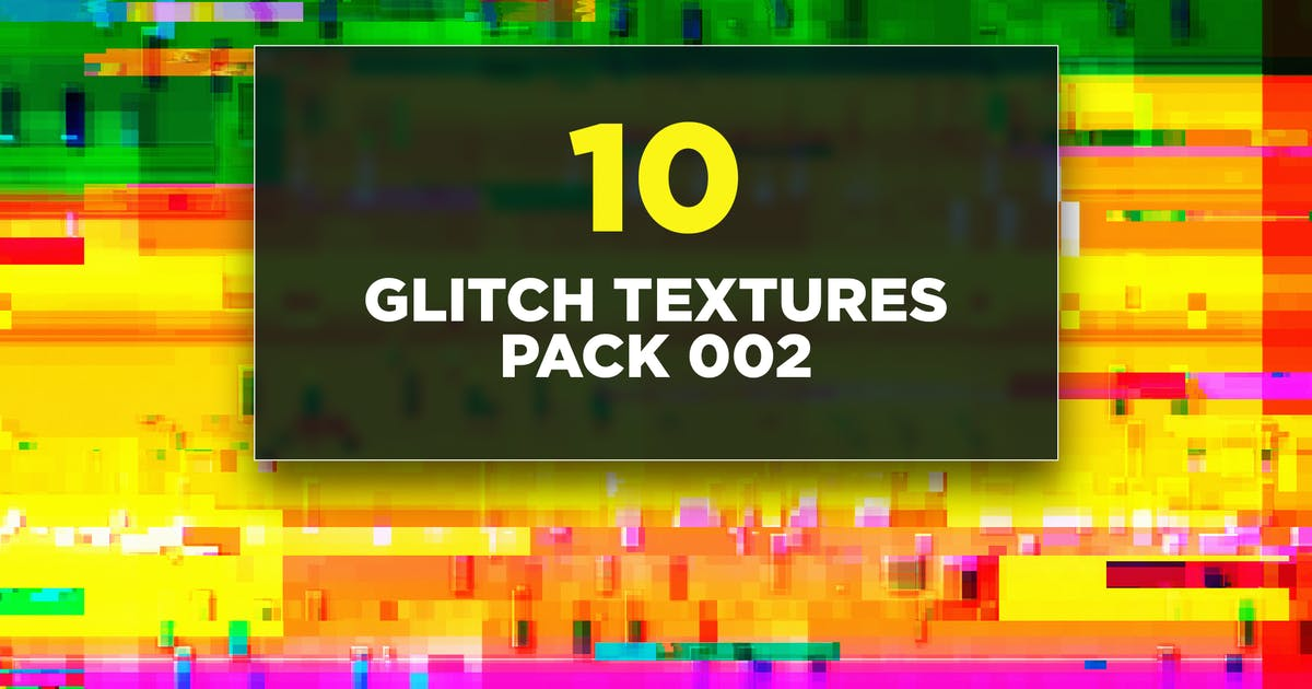 Download Glitch Textures Pack 002 by traint